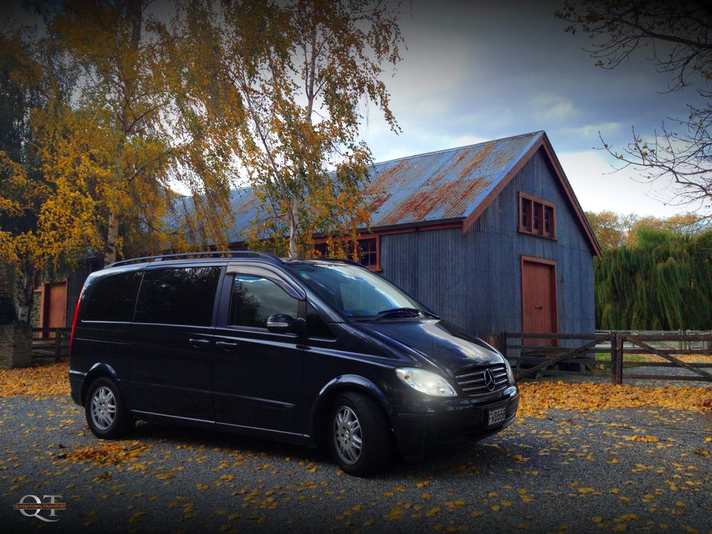Mercedes minivan hire queenstown