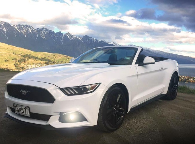 convertible mustang queenstown
