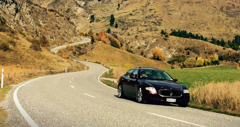 maserati queenstown hire
